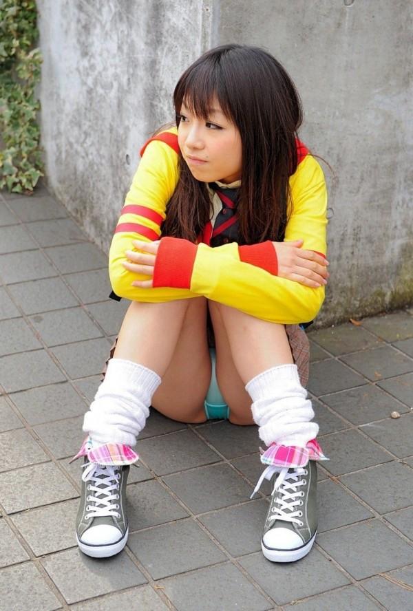 疑似ロリ娘童顔美少女エロ画像05
