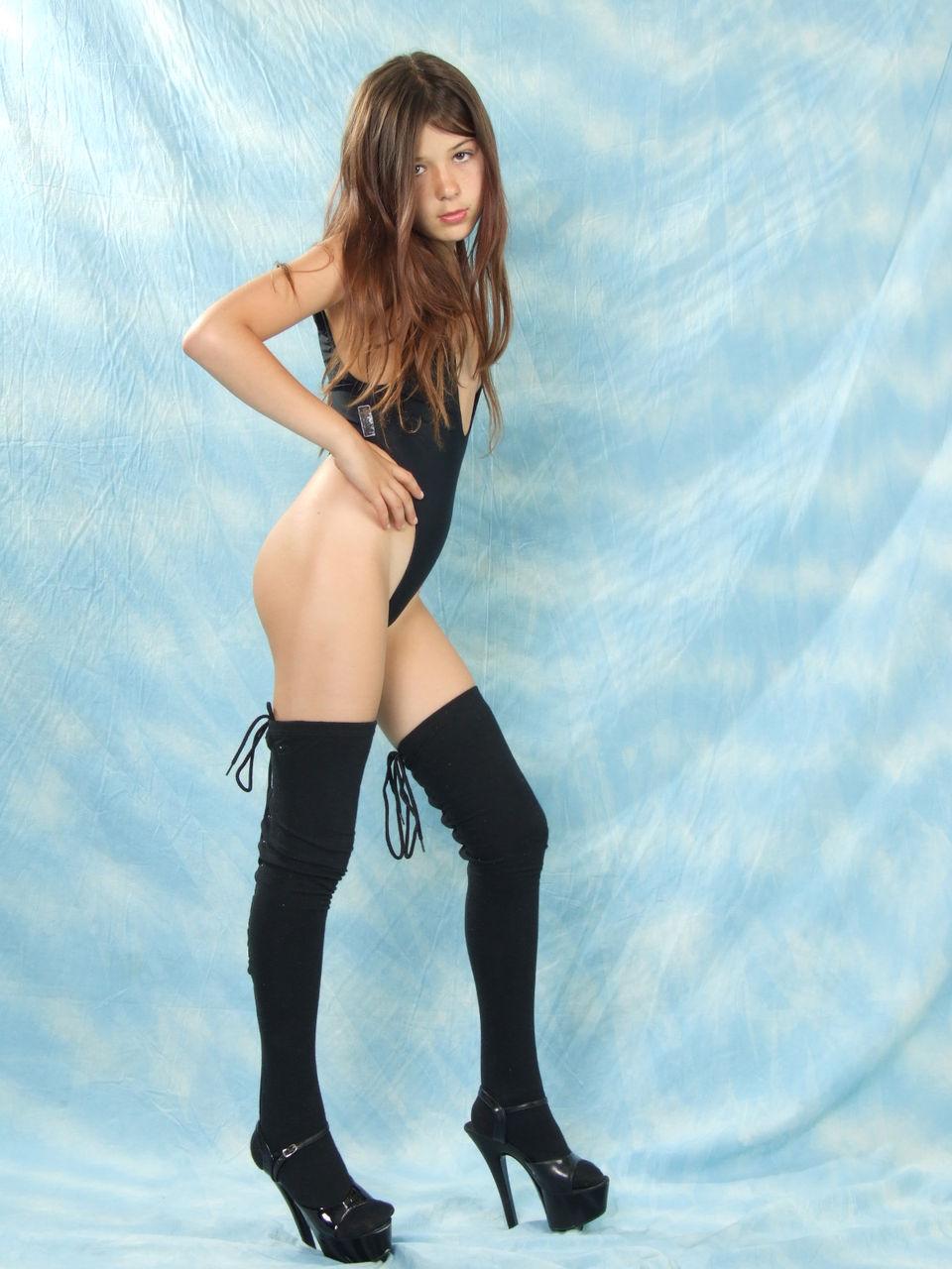 Stocking nude girls-3438