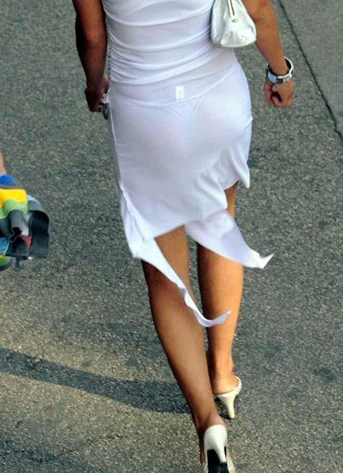 スカート透けパンエロ画像19