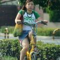 ミニスカートで自転車に乗ってる女の子ってパンチラ見て欲しいの?www