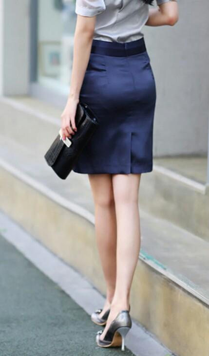 タイトスカートの美脚エロ画像10