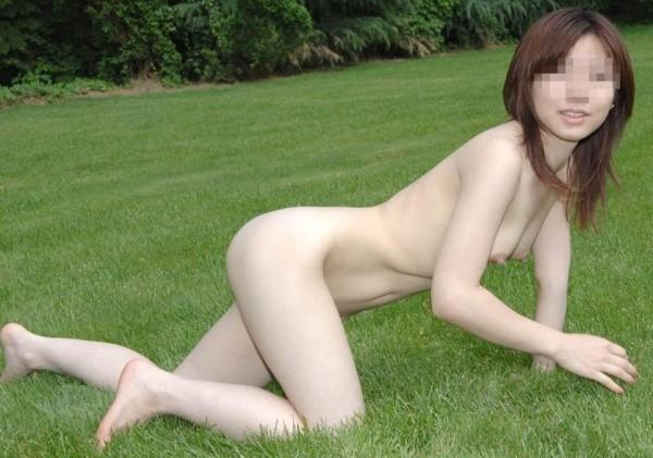 素人変態女の野外露出18
