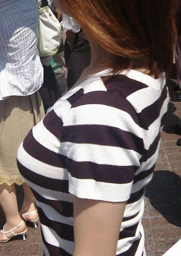 街撮り着衣巨乳がエロ過ぎ10