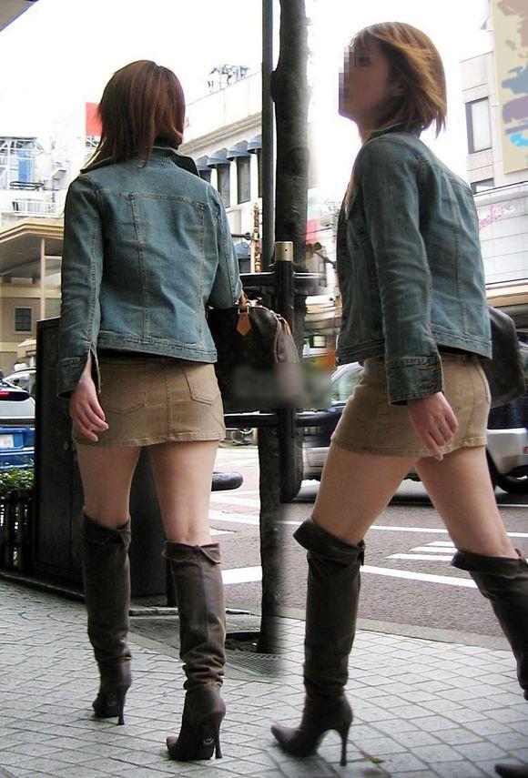 街撮り美脚エロ画像11