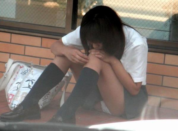 女子校生パンチラエロ画像09