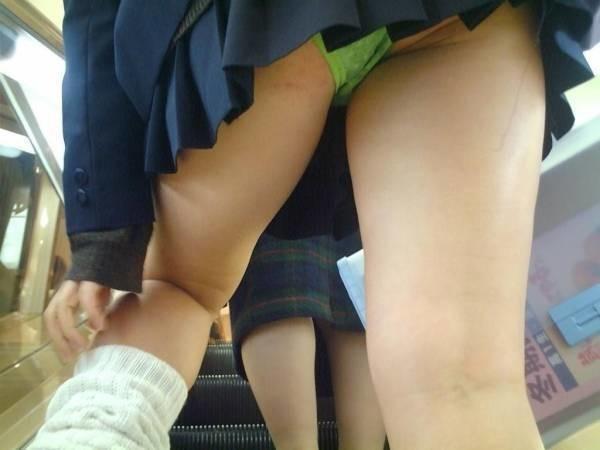女子校生パンチラエロ画像12