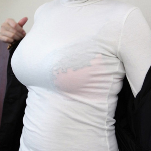(着衣美巨乳秘密撮影えろ写真)服の隙間から、谷間がチラチラと見えちゃっている、シロウトの女性たち☆☆☆