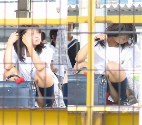 女子校生パンチラエロ画像08