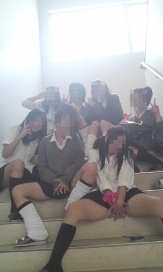 素人JK悪ノリエロ画像09