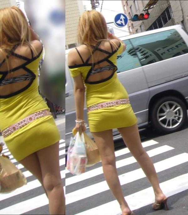 これは反応しちゃう街撮り美脚エロ画像20