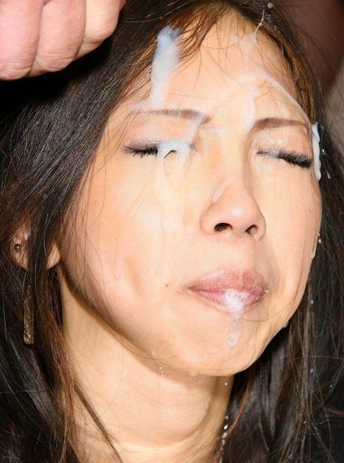 顔射エロ画像15