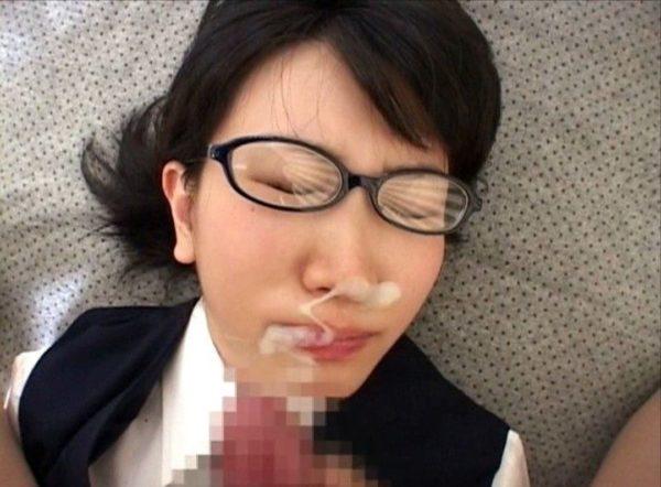 顔射エロ画像12