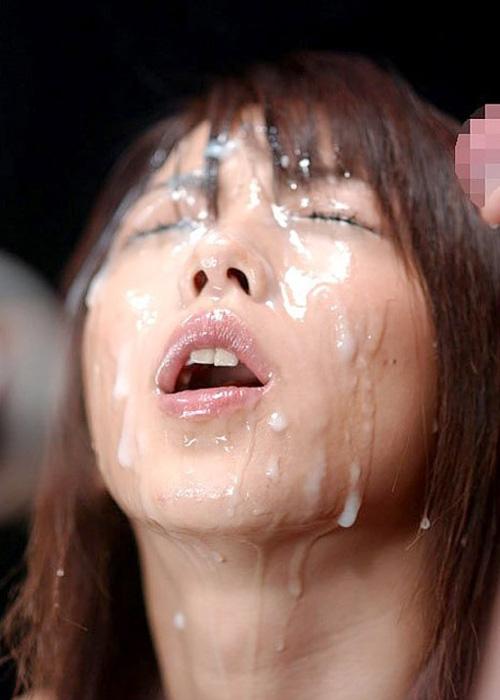 顔射エロ画像09