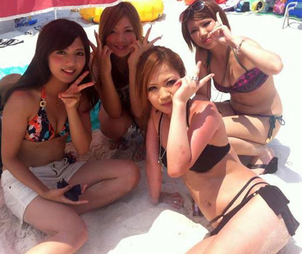 素人-女子大生-JD-水着-ビキニ-おっぱい-エロ画像34