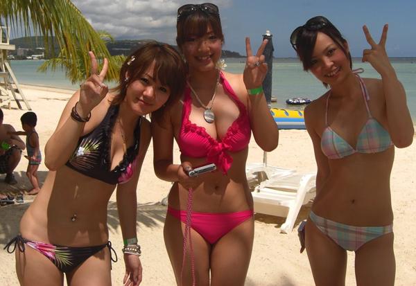 素人-女子大生-JD-水着-ビキニ-おっぱい-エロ画像35