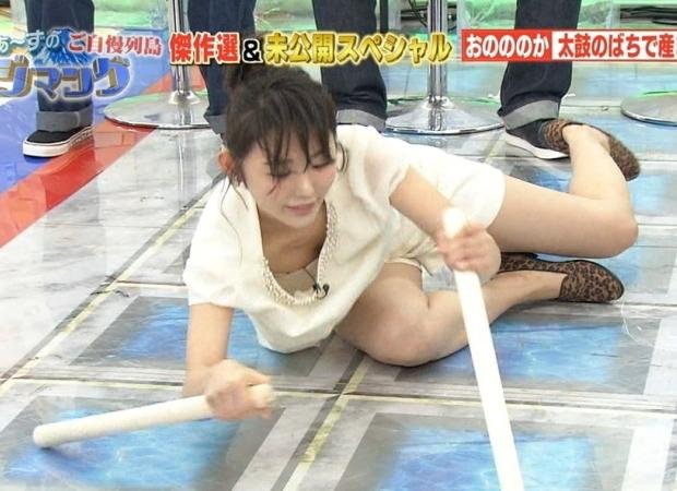 芸能人パンチラ胸チラハプニングエロ画像02