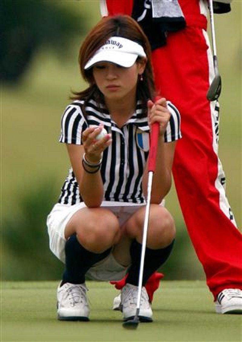 女子ゴルフのお楽しみはグリーン上にすべて集約されているwwww